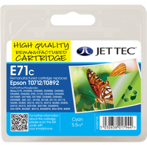Jettec Inkjet Cartridges