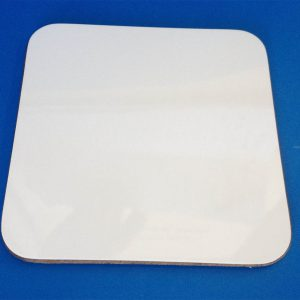 Hardboard 90mm Square Coaster